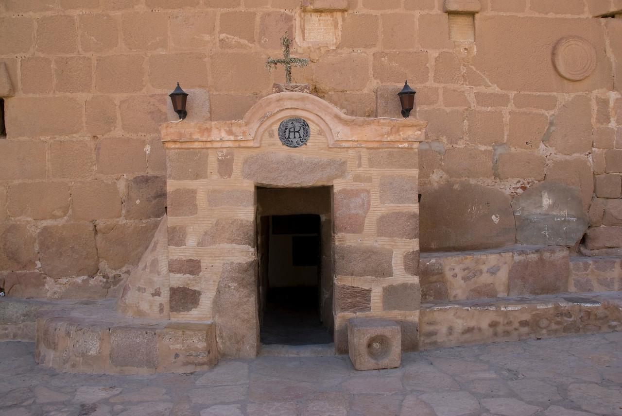 Monestary Entrance - St. Catherine's, Egypt