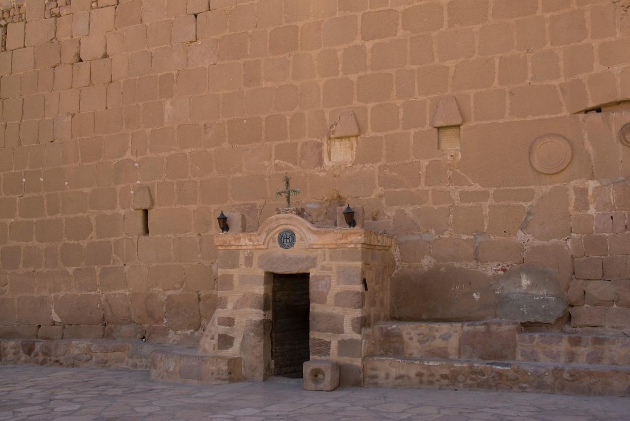 Monestary Entrance 4 - St. Catherine's, Egypt