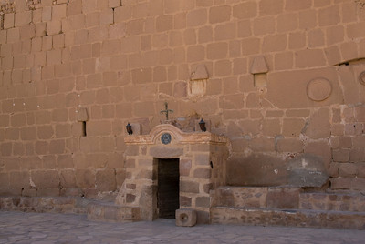 Monestary Entrance 4 - St. Catherine's, Egypt