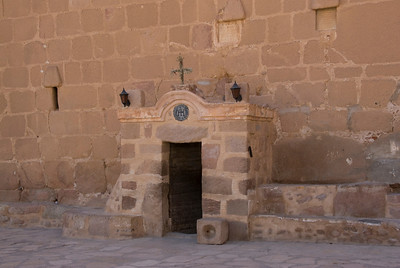Monestary Entrance 3 - St. Catherine's, Egypt