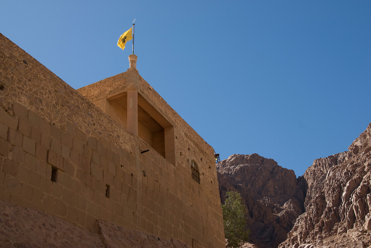 Monestary Walls 1 - St. Catherine's, Egypt