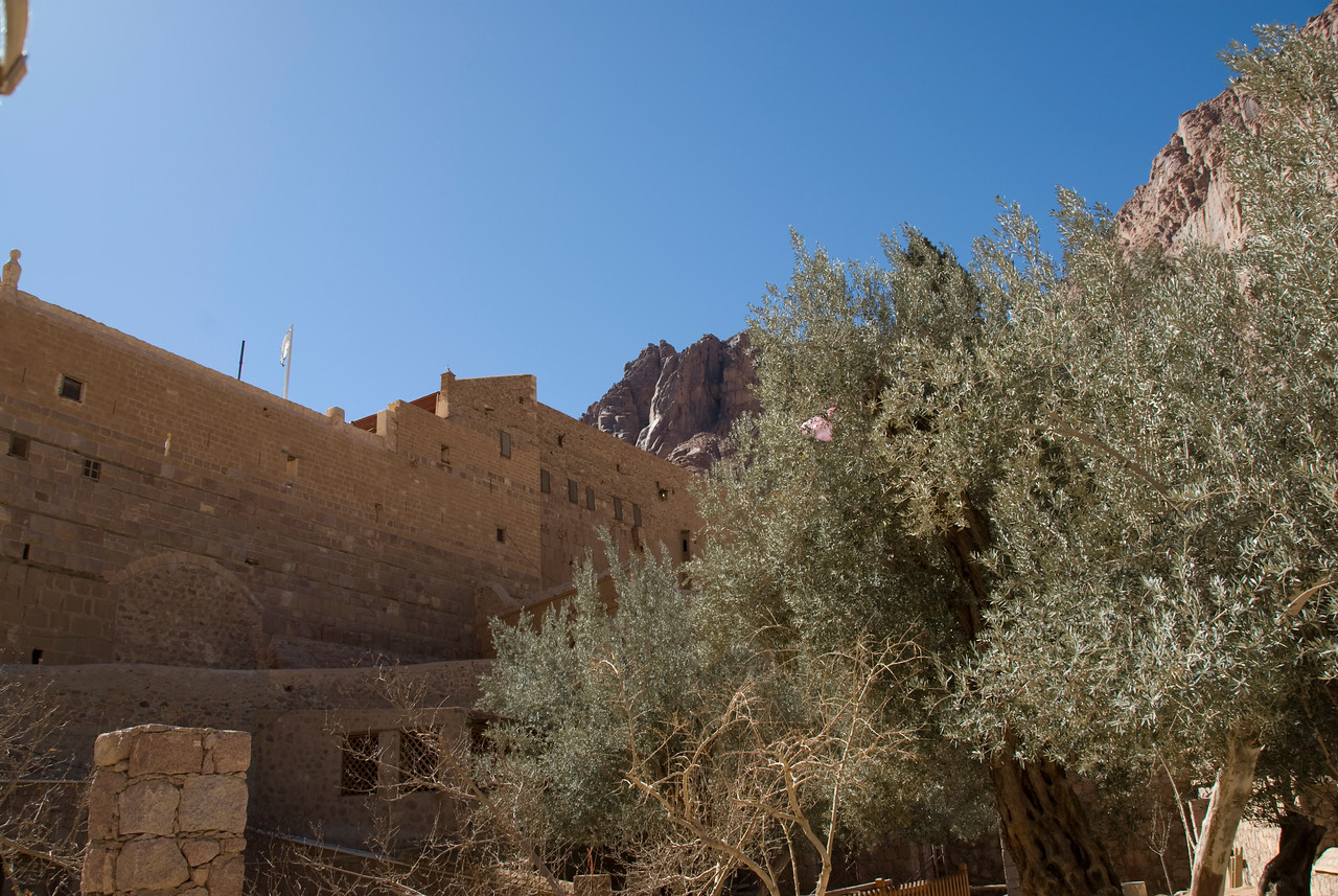 Monestary Walls 4 - St. Catherine's, Egypt