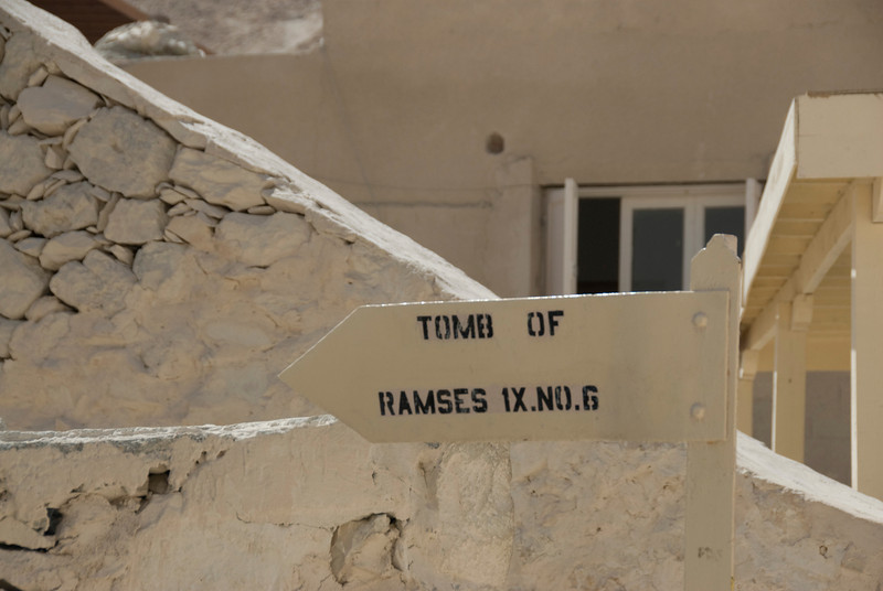 Ramses IX Sign - Valley of the Kings, Egypt