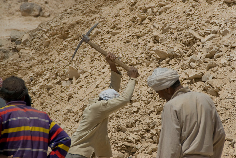 Workers 5 - Valley of the Kings, Egypt
