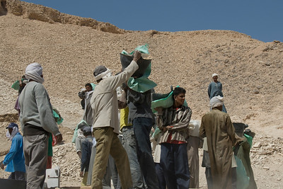 Workers 6 - Valley of the Kings, Egypt
