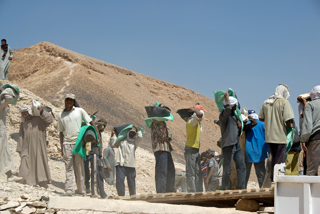 Workers 2 - Valley of the Kings, Egypt