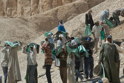 Workers 3 - Valley of the Kings, Egypt
