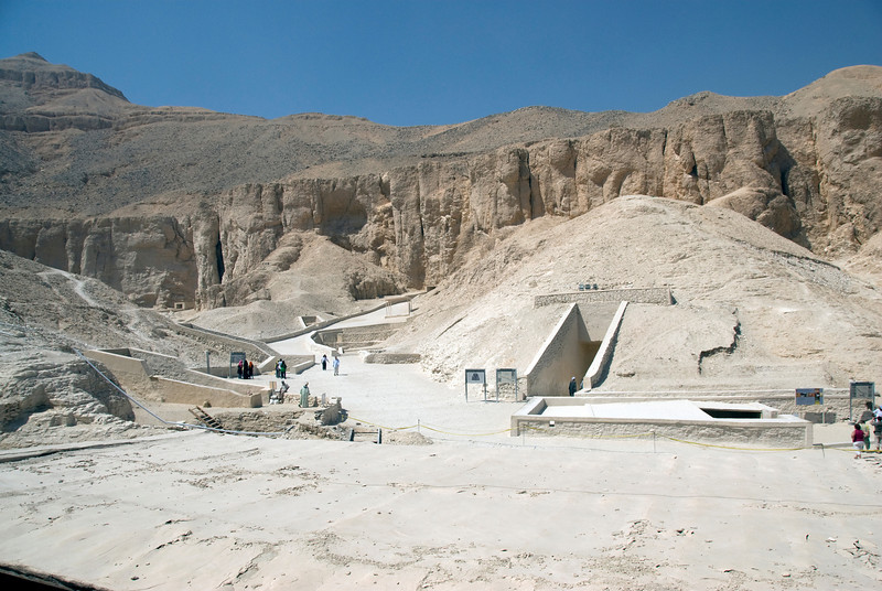 Tombs and Mountain 2 - Valley of the Kings, Egypt