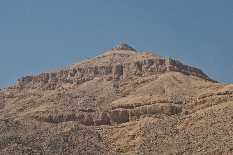 Mountain Top - Valley of the Kings, Egypt
