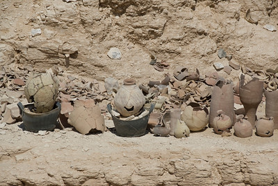 Broken Pottery - Valley of the Kings, Egypt