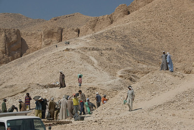 Workers - Valley of the Kings, Egypt