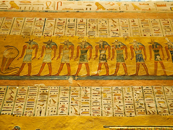 Tomb of Ramses IV in the Valley of the Kings