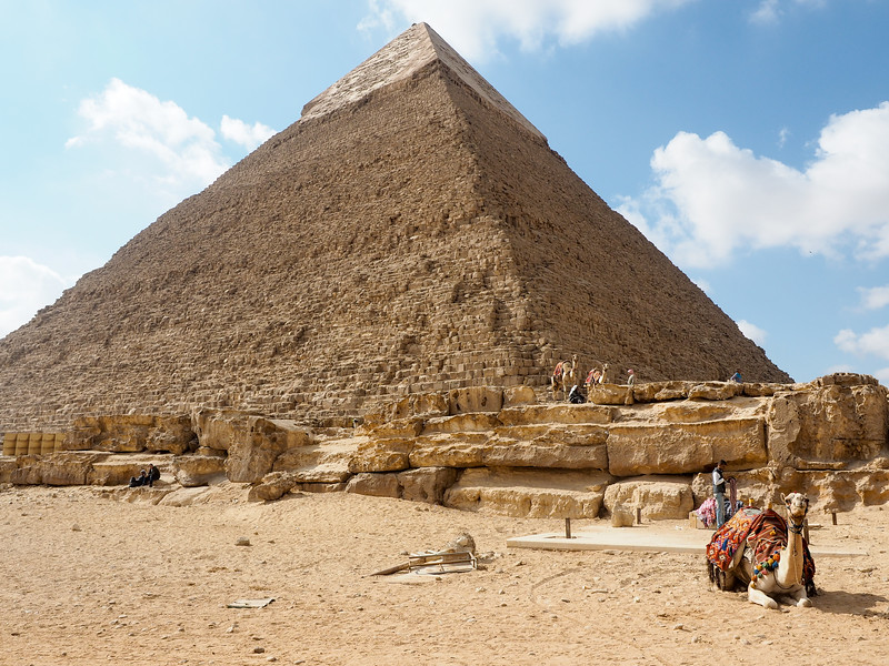 Middle Pyramid in Egypt