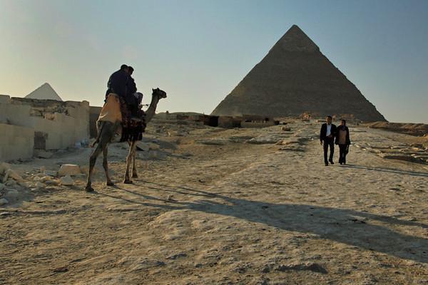 Pyramid of Chephren, Giza
