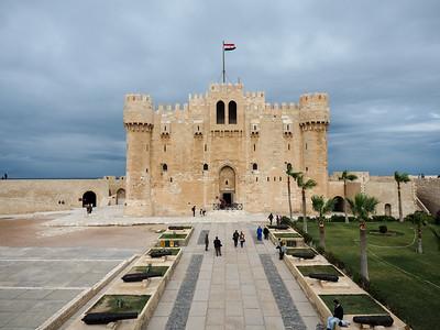 Citadel of Qaitbay in Alexandria, Egypt