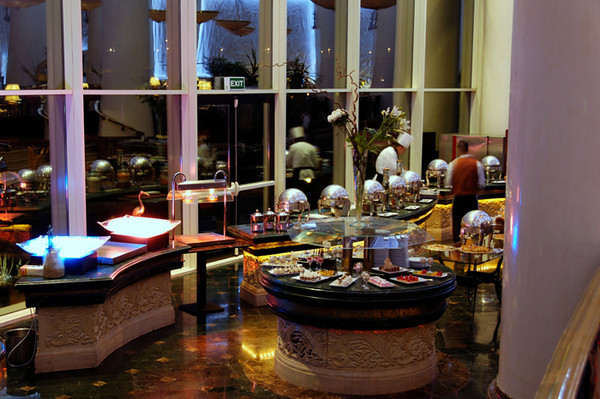 Marriot dinner buffet, Cairo