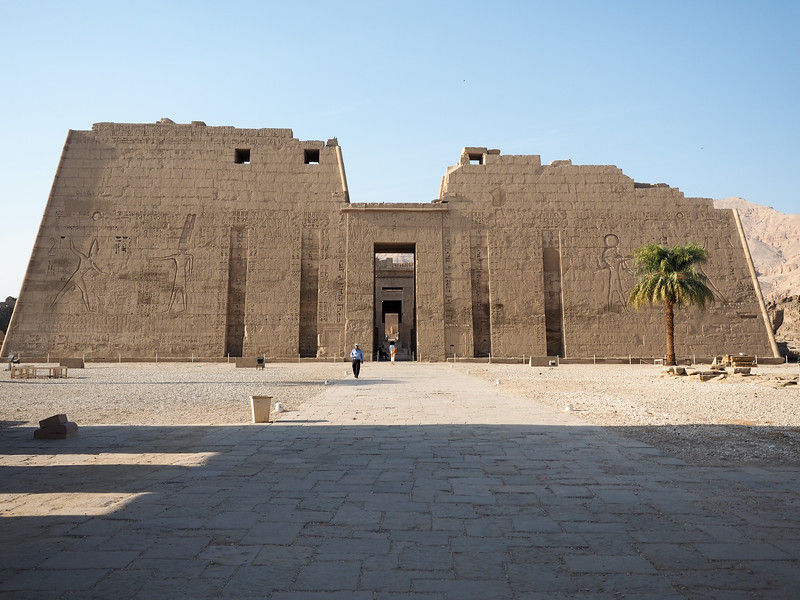 Madinat Habu Temple in Luxor