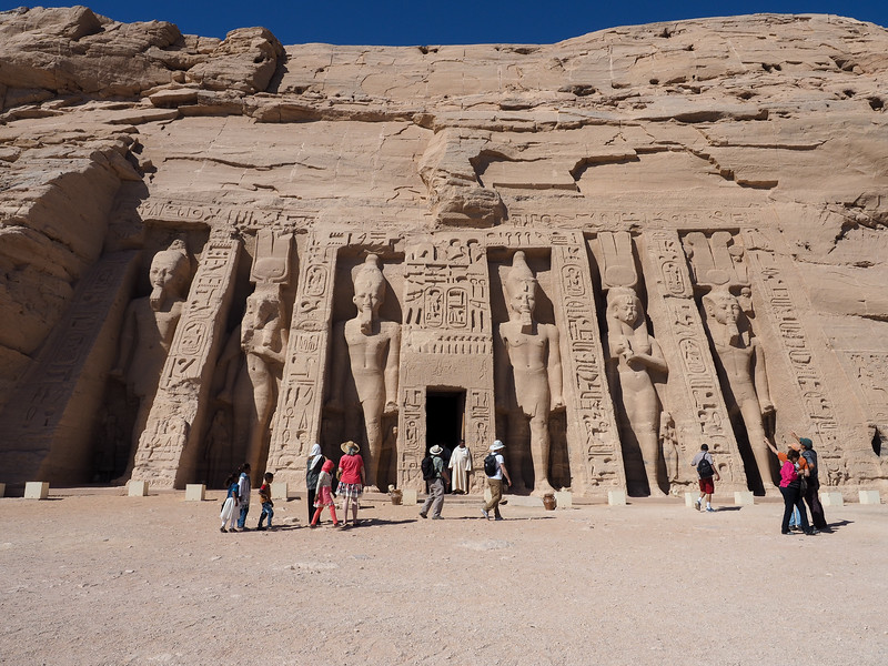 Temple of Hathor and Nefertari at Abu Simbel