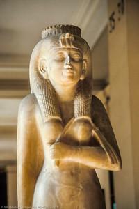 Statue in Cairo Museum