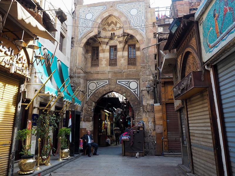 Khan el-Khalili bazaar in Cairo
