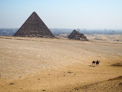 Pyramid in Giza, Egypt
