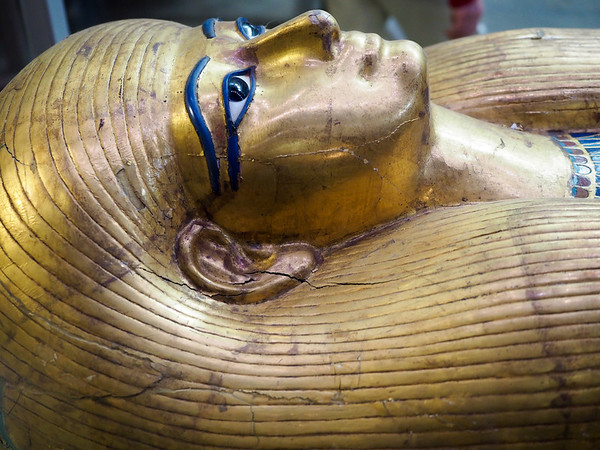 In the Egyptian Museum in Cairo