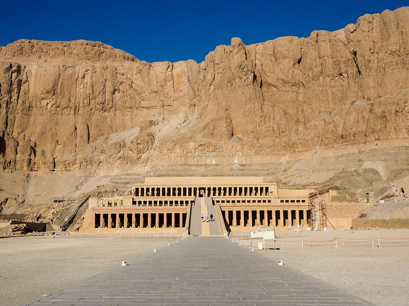 Temple of Hatshepsut in Luxor, Egypt