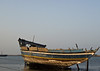 Beached dhow, Massawa