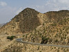 Massawa-Asmara road.  From Massawa my new friend Jayant and I drove back to Asmara.