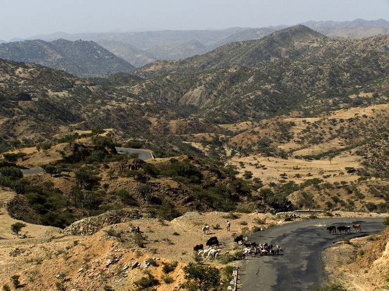 Between Asmara and Keren