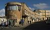 Buildings, Asmara.  Many of the buildings in Asmara convey a great feeling of motion.