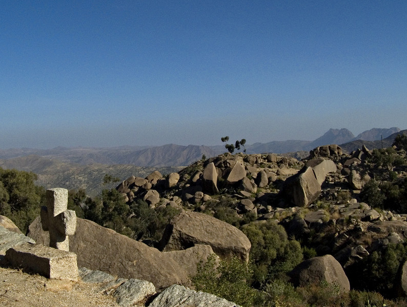 View from Debre Sina