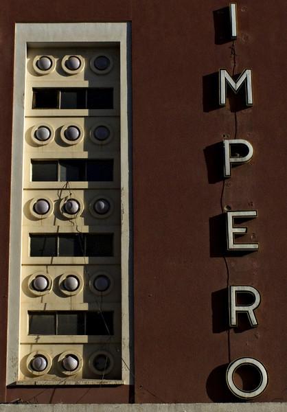 Detail, Cinema Impero, Asmara