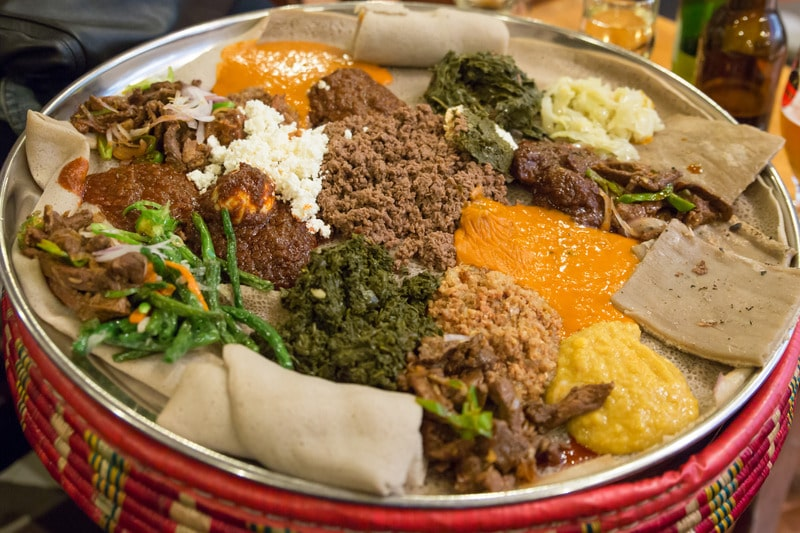 A Guide to Eating Ethiopian Food - Food, Etiquette and Best Restaurants