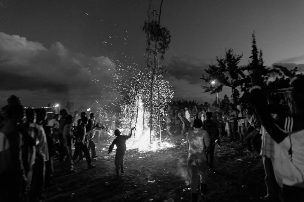 Meskel Bonfire, Dorze