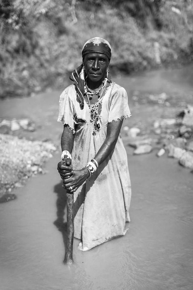 Berta Woman, Sherkole Area