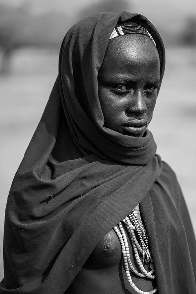 Arbore Woman; Turmi-Arbore Road