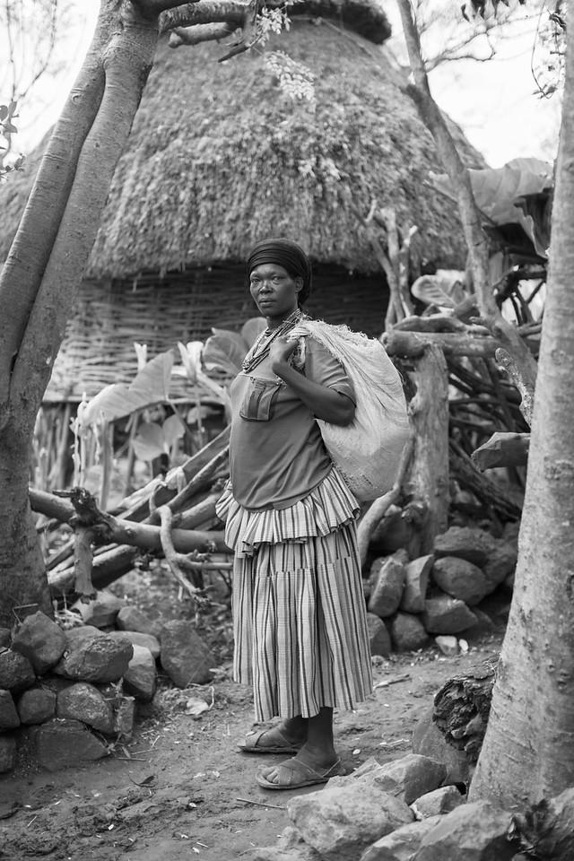 Konso Woman, Kamole Village