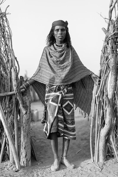 Afar Woman, Lemelefen Village