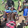 Benna Woman--Scars on Her Back From Whipping Ceremony, Before Bull Jumping Ceremony