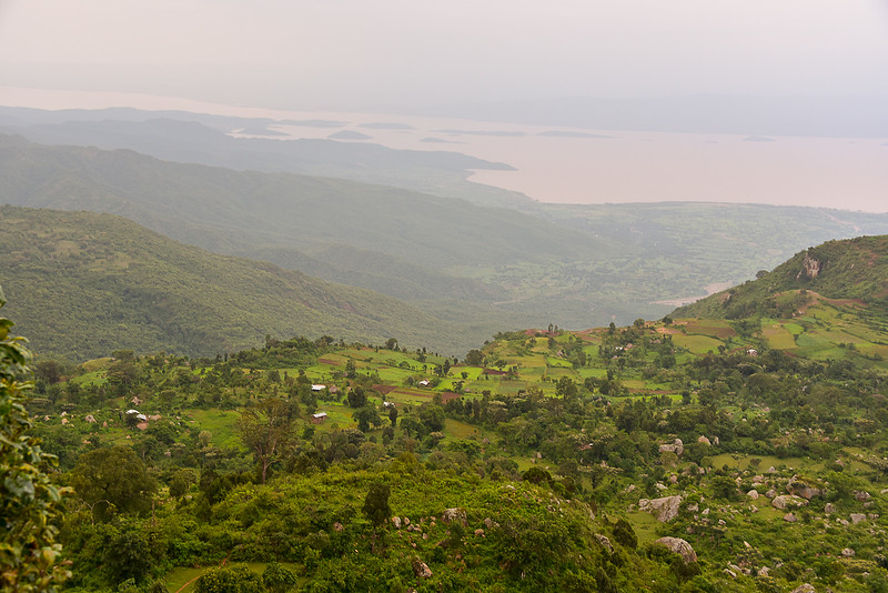 View from Dorze Village, Omo Valley, Southern Ehtiopia