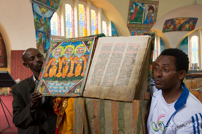 Holy Book, Church of Our Lady Mary of Zion - Aksum, Ethiopia
