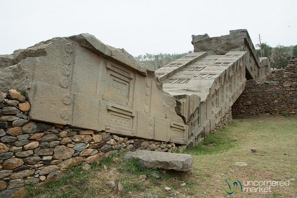 Broken Stelae - Aksum, Ethiopia