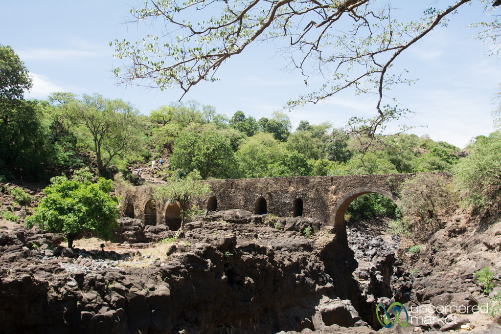 Portuguese Bridge Near Blue Nile Waterfall - Bahir Dar, Ethiopia