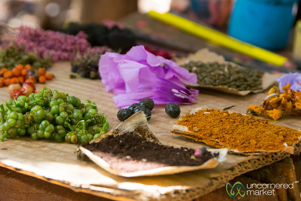 Natural Dyes for Painting - Bahir Dar, Ethiopia