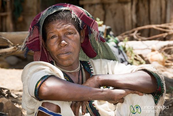 Ethiopian Woman - Bahir Dar, Ethiopia