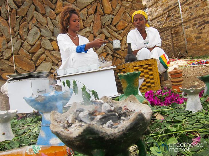Ethiopian Coffee Ceremony - Aksum, Ethiopia