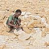 danakil depression - dallol salt workers