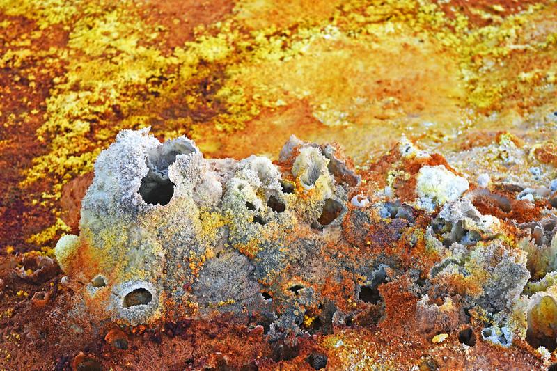 danakil depression - dallol sulphur springs