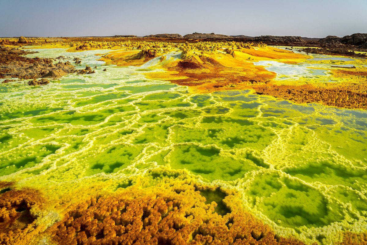 Hydrothermal field of Dallol